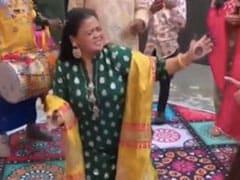 भारती सिंह पुनीत की शादी में यूं ढोल पर डांस करती आईं नजर, वायरल हुआ Video