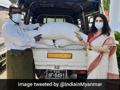 Indian Association Donates Food Rations To Less Fortunate People In Myanmar
