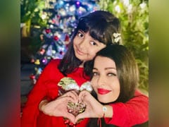 Aishwarya Rai Bachchan Shares A Pic From Christmas Celebrations With Daughter Aaradhya