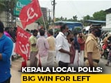 Video : Kerala's Ruling Left Scores Big Win In Local Polls Before State Elections