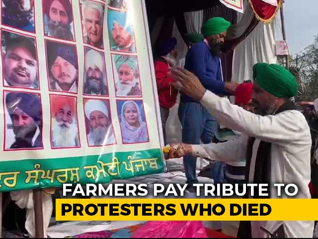 Video : At Farm Protests, Prayer Meets For Those Who've Lost Lives