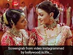 Madhuri Dixit और Aishwarya Rai ने यूं की थी 'डोला रे डोला' सॉन्ग की शूटिंग, Video में साथ डांस करती आईं नजर