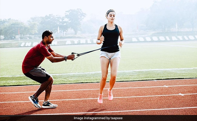 'It Was Painful' - But Worth It: Taapsee Pannu Completes Athletic Training For Rashmi Rocket