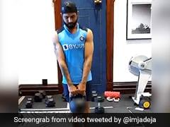 India vs Australia: Ravindra Jadeja Shares Training Video Ahead Of Test Series. Watch