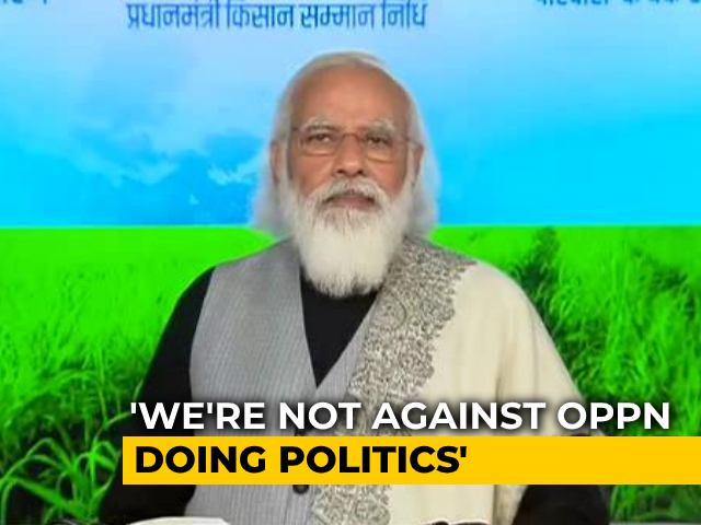"""Video : """"Mamata Banerjee's Ideology Destroyed Bengal"""": PM's Attack Over Farmers"""