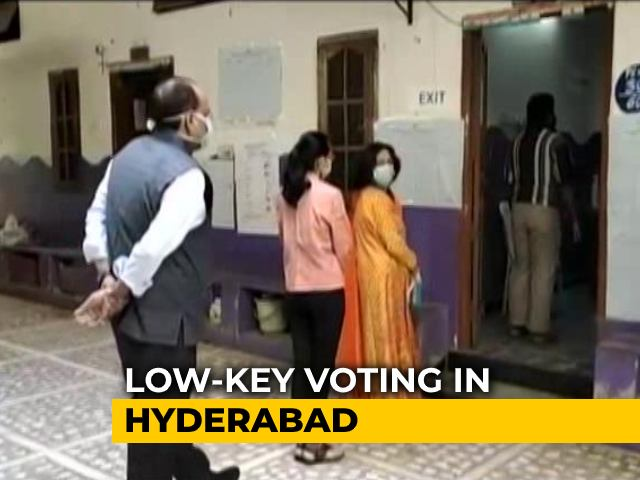 Video : After High-Decibel Campaigns, Low Turnout In Hyderabad Civic Election