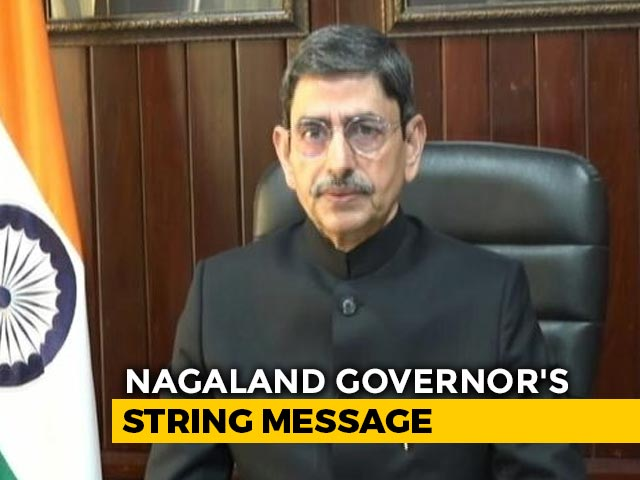 "Video : ""Only One National Flag In India"": Governor RN Ravi On Naga Group's 'Flag' Demand"