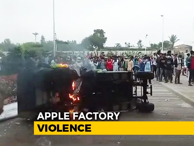 Video : Apple Investigates iPhone Facility Near Bengaluru After Violence By Workers