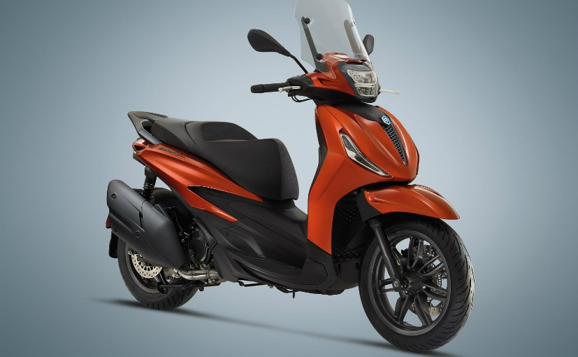 The Piaggio Beverly scooters have been updated for 2021