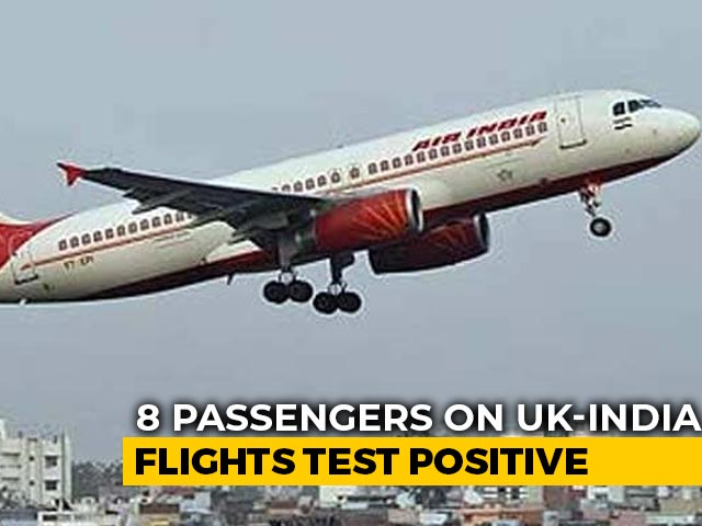 Video : 8 From UK Test Covid Positive After Arrival In India Amid Mutant Strain Fears