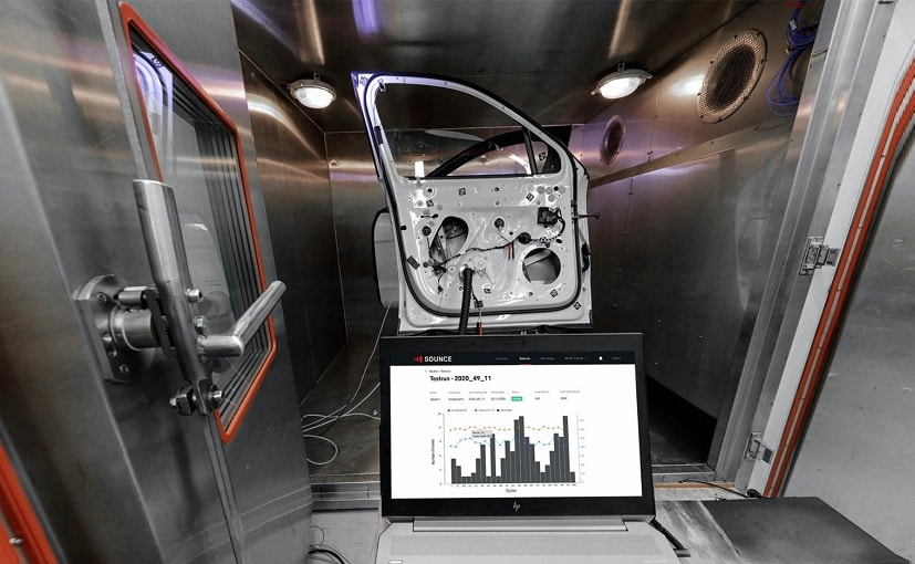 Porsche Digital has built new AI technology for detecting noise during component testing