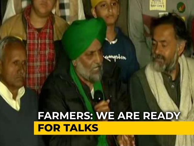 """Video : Day After PM Speech, Farmer Union Says """"Misinformation"""", Asks For Talks"""