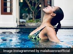पेट की मांसपेशियों को मजबूत करने के लिए Malaika Arora ने ऐसे किया पार्श्वकोणासन, देखें फोटो