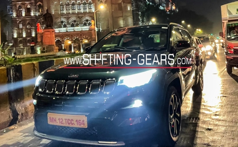 The 2021 Jeep Compass facelift will come in a new dark bottle green colour and an updated cabin