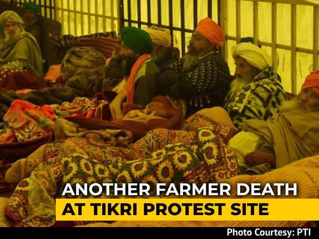 Video : Punjab Farmer Protesting Near Delhi Border Dies Amid Cold Wave