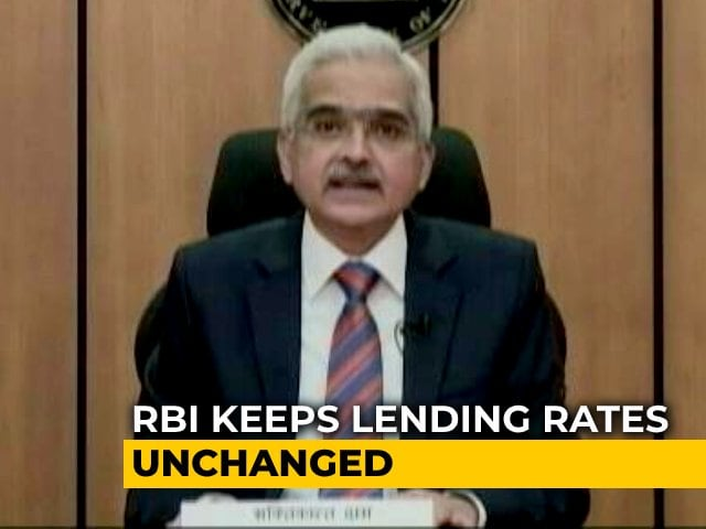 Video : RBI Revises Real GDP Growth Projection For 2020-21 To -7.5%