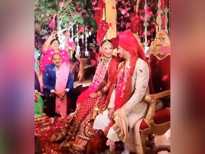 "Yuzvendra Chahal Shares ""Special"" Wedding Video Featuring Wife Dhanashree Verma. Watch"