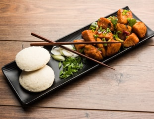 Indian Cooking Tips: How To Make Idli Without Idli Maker and Peanut Chutney (Watch Recipe Video)