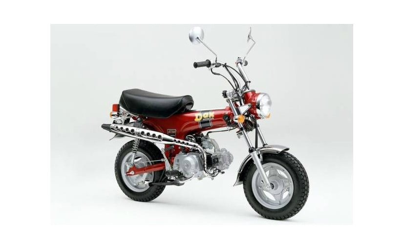 Honda has filed patent applications for the ST 125, possibly a revival of the 1960s Honda Dax