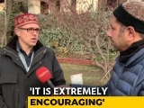 "Video : ""People Have Spoken, Pay Heed"": Omar Abdullah To BJP After Local Polls"
