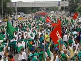 Video : Congress vs JDS In Karnataka Amid Farmers' Protest Over Land Reforms Act