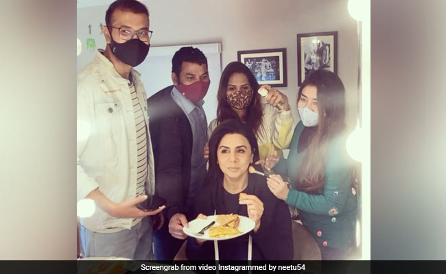 Neetu Kapoor, Back At Work, Shares BTS Pic From The Sets Of Jug Jugg Jeeyo