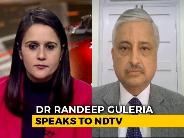 Video : Foreign Vaccine May Not Be Ideal For India, AIIMS Chief Explains