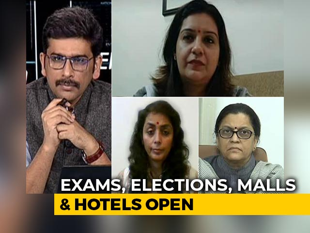 Video : Why Parliament Session Scrapped When Exams, Hotels, Malls Allowed?