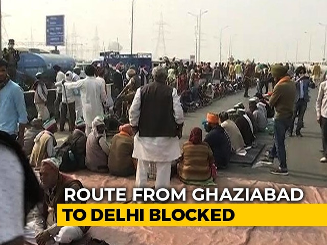 Video : Farmer Protests: Delhi-Meerut Expressway Partially Blocked