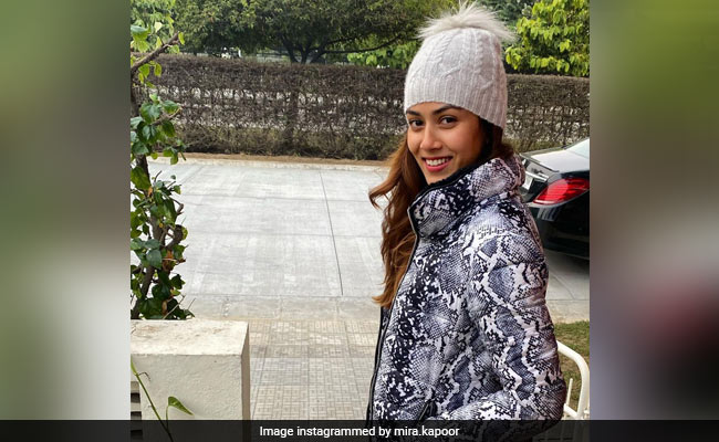'Warm-Blooded' Mira Rajput Looks Super Cute In This Winter Pic