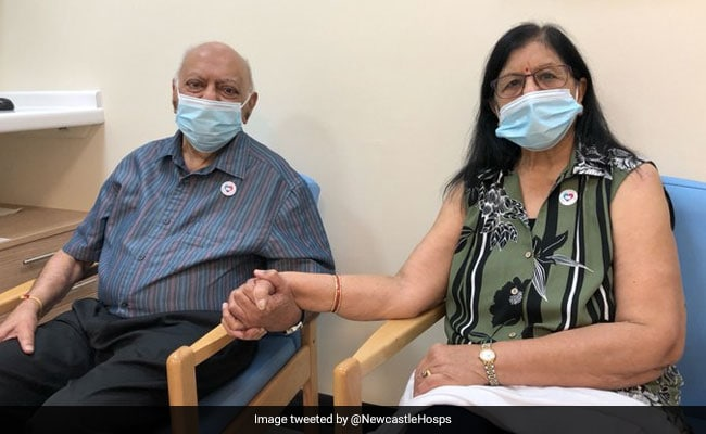 Indian-Origin Couple In UK Among 1st In World To Get Covid Vaccine