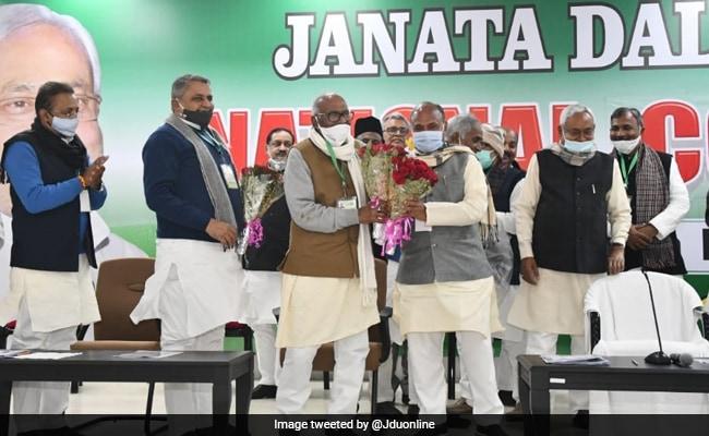 नीतीश ने आरसीपी सिंह को अध्यक्ष बनाकर भाजपा को क्या संदेश दिया है?
