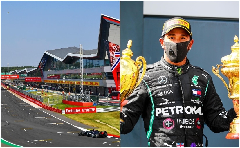 Lewis Hamilton will be the first driver to have his name on a section of the Silverstone race track