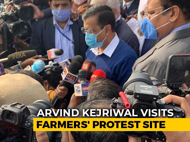"Video : ""Here As A Volunteer, Not Chief Minister"": Arvind Kejriwal Visits Farmers"