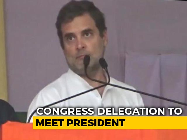 Video : Rahul Gandhi-Led Congress Delegation To Meet President Over Farm Laws, Other Top Stories