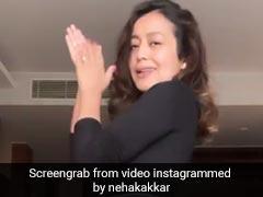 Neha Kakkar ने 'लैला' सॉन्ग पर किया डांस, रोहनप्रीत सिंह भी यूं साथ देते आए नजर- देखें Video