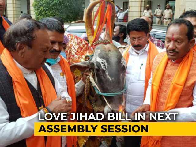 Video : Karnataka BJP Holds Puja For Cows, Passes Anti-Slaughter Bill In Assembly