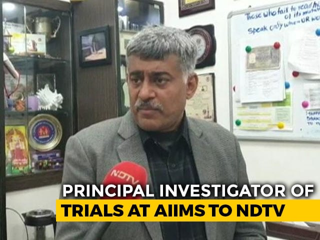 Video : 70-80% Reduction In Covaxin Trial Participation: AIIMS