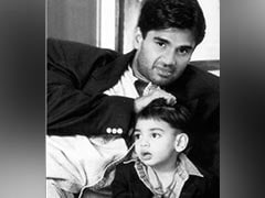 Suniel Shetty And Athiya Share Throwback Bonanza On Ahan Shetty's Birthday