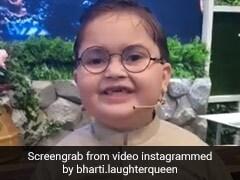 कॉमेडियन भारती सिंह का फैन है पाकिस्तान का क्यूट बच्चा, बोला-आपके सारे वीडियो देखता हूं...देखें Video