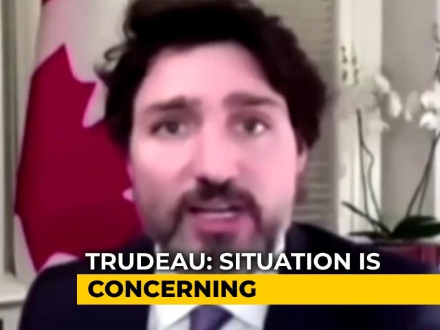 "Video : ""Ill-Informed"": India Reacts Sharply To Trudeau's Farmer Protest Remarks"