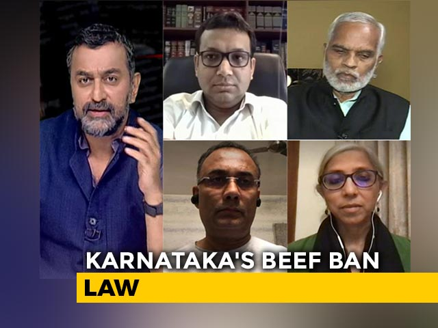 Video : Behind Karnataka's Beef Ban Law, Divisive Politics?