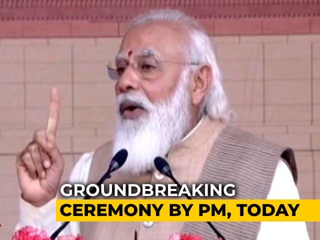 Video : PM Modi Launches Work For New Parliament Complex, Ministers, Ratan Tata Attend