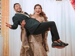 Gauahar Khan And Zaid Darbar Had This Much Fun At Their Walima. See Pics