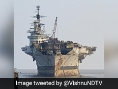 Hope Fades For Viraat Museum After Images Show Warship Partly Dismantled