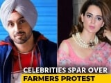 Video : Actors Kangana Ranaut, Diljit Dosanjh In Ugly Twitter Fight Over Farmers