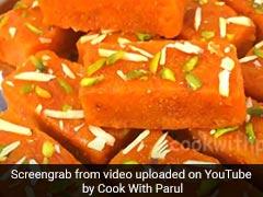 Winter Special: How To Make Gajar-Sooji Ki Barfi Without Khoya