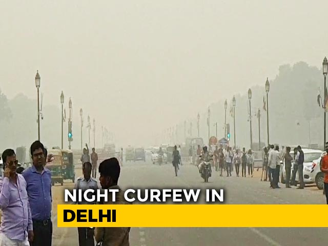 Video : Night Curfew In Delhi Today, Tomorrow To Restrict New Year Celebrations