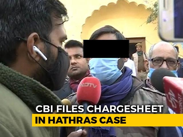 """Video : """"Truth Out, Sister's Voice Heard"""": Hathras Victim's Brother On CBI Charge Sheet"""