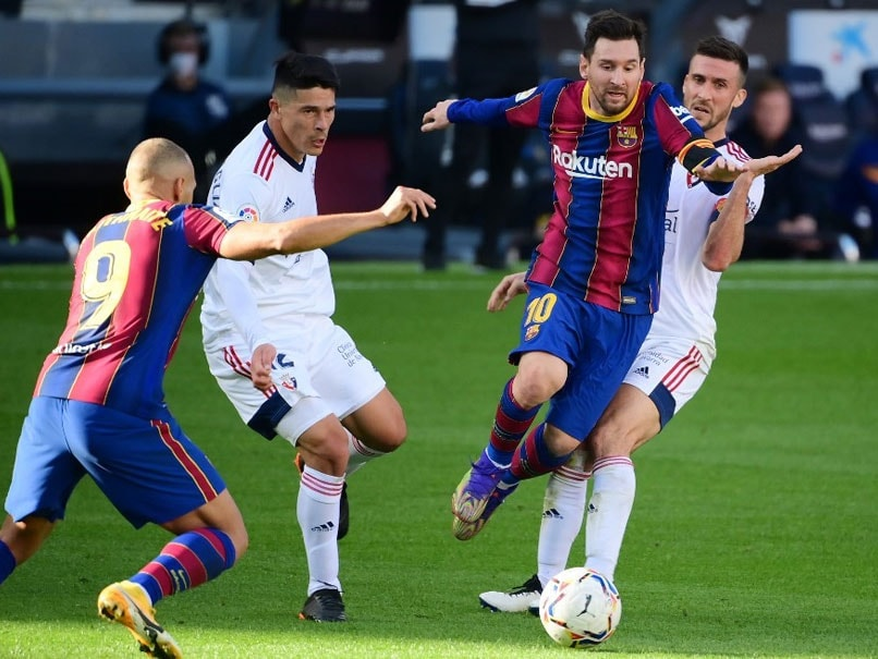 Barca beat Ferencvaros to stay ideal in Champions League